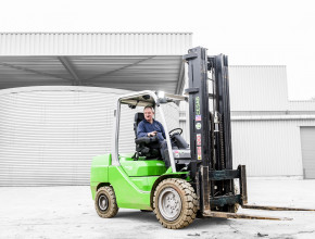 cesab m300h hydrostatic forklift truck